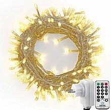 NEXVIN 20m 200 LED Guirlande Lumineuse, avec