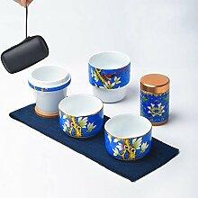NHP Émail, Tasse Rapide, Service à thé