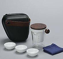 NHP Service à thé de Voyage, Quatre Tasses dans