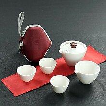 NHP Service à thé de Voyage, théière Portable,