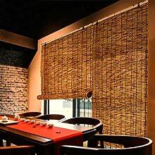 NIANXINN Enrouleur Bambou Naturel - Rideau de