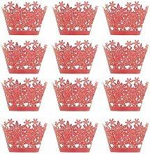 Nice Design Lot de 12 boîtes en papier pour