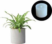Nicole Ciment Vase Silicone Moule À La Main En