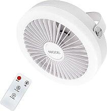 NIGOE Ventilateur Silencieux avec Lumières LED,