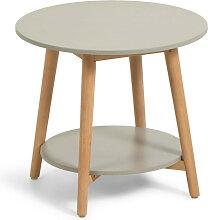 Nina - Table d'appoint ronde en bois ø50cm