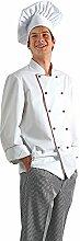Nino Cucino Toque de chef Blanc 35 % coton/65 %