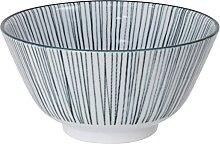 Nippon Black Bol à céréales en porcelaine