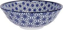 Nippon Blue - Ramen Bol à nouilles Bleu/Blanc Ø