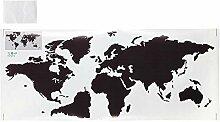 Niunion Carte du Monde décoration Murale, PVC Une