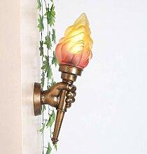 NIUYAO Applique Murale Interieur Torche Abat-jour