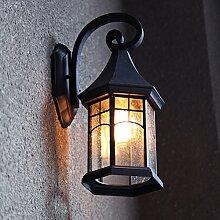 NIUYAO Lampe Applique Murale Extérieure Abat-jour