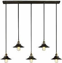 NIUYAO Lampe Suspension Abat-jour Antique en