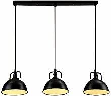 NIUYAO Lampe Suspension Abat-jour en Métal