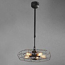 NIUYAO Lampe Suspension Lustre Abat-jour en Métal