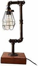 NIUYAO Lampes de Table Abat-jour Cage en Métal