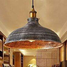 NIUYAO Suspension Lampe Lustre Abat-jour en Métal