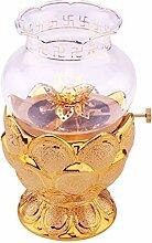 Nixi888 Petite lampe à huile traditionnelle en