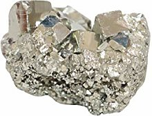 NK CRYSTALS Pierres brutes Or Pyrite Cluster