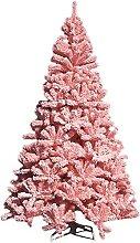 NLASHFO Arbre de Noël Artificiel Rose Flocon de