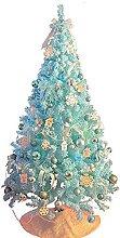 NLASHFO Sapin de Noël Bleu Arbre de Noël