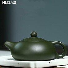 NLSLASI – théière chinoise Yixing, avec filtre