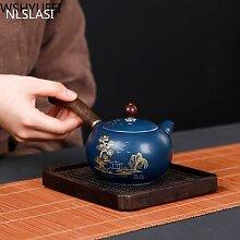 NLSLASI – théière en céramique japonaise,