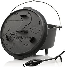 No_brand - BBQ-Toro Dutch Oven DO9P | 9,0 litres |