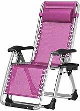 no brand Chaise Longue Pliable Balcon Fauteuil