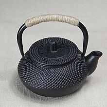 Noir fonte Kettle Théière Théière Tea Pot De