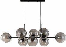 Noir Spoutnik Lustres,Globe Suspension Luminaire