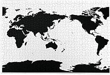 Nongmei Puzzle 1000 pièces, Carte du Monde
