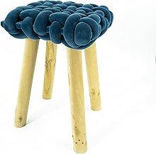 Noor Living Design Products 50464 Tabouret, Tissu,