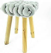 Noor Living Design Products 50465 Tabouret, Tissu,