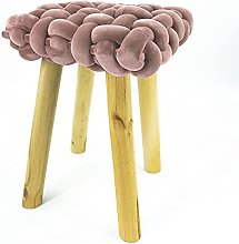 Noor Living Design Products 50474 Tabouret, Tissu,