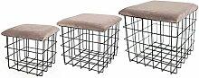 Noor Living Design Products 77286 Tabouret,