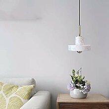 Nordic Light Chambre Lampe De Chevet En Marbre De