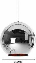 Nordic Plating Ball Chandelier Moderne minimaliste