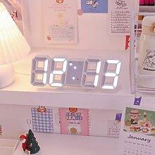 Nordique Numérique Alarme LED Horloges Tenture