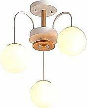 Nordique Spoutnik Lustres,LED Moderne Verre Boule