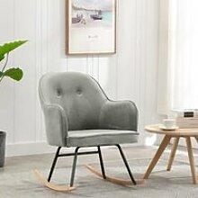 Nouveau - Fauteuil à bascule Chaise à bascule