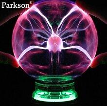 Nouveauté verre magique boule de Plasma lumière