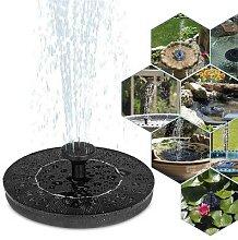 Nouvelle fontaine à eau solaire, pompe, fontaine