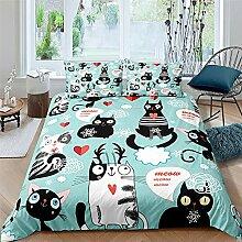 NRATW Chaîne de Textile à Domicile Cute Cat Cute