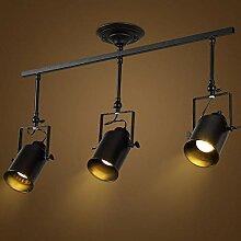 NSZHDY Projecteur de Plafond Vintage, Spot de
