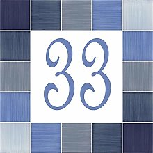 Numéro de Maison en céramique – Choisissez