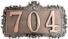 Numéro de Maison Personnalisé Plaque de Numéro