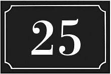 Numéro de maison / rue gravé et personnalisé