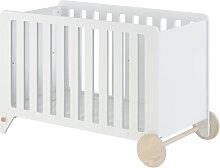 Nunila - Lit bébé en bois 60x120cm