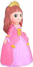 NUOBESTY Rose Princesse Tirelire pour Les Filles