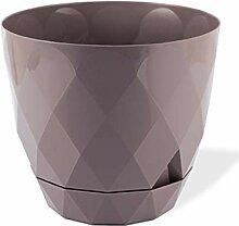 Nurdanil Pot de fleurs au design moderne et carré